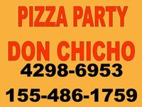 Pizza Party Don Chicho - Eventos - Lomas de Zamora