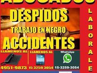 Abogados Laborales En Capital, Despidos, accidentes, defensas Laborales  - corrientes capital