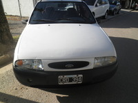 Ford Fiesta Lx 3 Puertas Mod. 1999 Blanco Impecable - ford fiesta 1 3