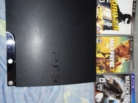 Vendo Ps3 Slim 160 Gb Con 11 Juegos - gta 5