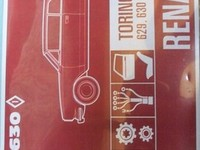 * EN VENTA!  MANUAL DESPIECE TORINO GRAND ROUTIER & COUPE ZX ** 1979 * - Accesorios - Nogoyá