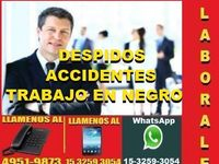 Abogados Laborales En Capital, Despidos, Accidentes - empleador