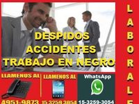 Abogados Laborales, Capital, Despidos, Accidentes - estudio de abogados