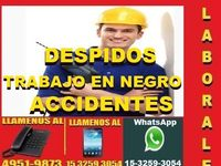 Abogados Laborales En Capital, Consultas Gratis, Despidos, Accidentes De Trabajo, Trabajo En Negro - corrientes capital