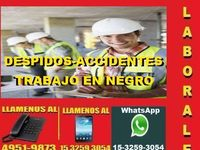 Abogados Laborales, Despidos Accidentes capital - estudio de abogados