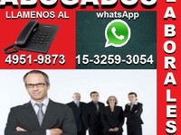 Abogados Laborales En Capital  - once
