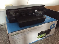 Vendo Impresora A3 HP Officejet 7110 - cartuchos hp