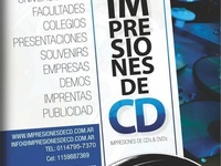 Copia impresion cd dvd packaging caratulas full color - Otros Servicios - Todo Argentina