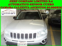 Jeep Compass Limited 2.4 Nafta CVT Techo - permutas