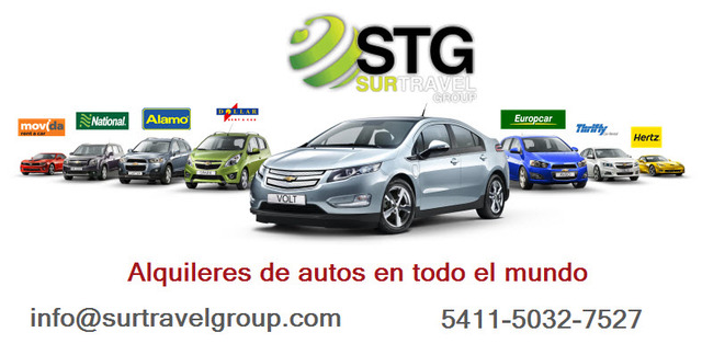 Alquiler De Autos Usa / Brasil / Europa / Rent A Car - Turismo - Almirante Brown