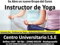 Instructor de yoga  - Universidades - Gualeguaychú