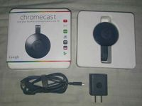 Google Cromecast 2 Original - laptop