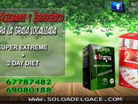 REDUCES GRASA LOCALIZADA CON SUPER EXTREME Y 2DAY DIET JAPONES - Ropa / Accesorios - Pedro Domingo Murillo