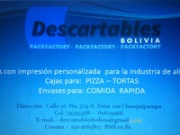 Descartables Bolivia - la paz