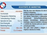 Curso de Assistente de Marketing.  - Cursos de Informática / Multimídia - São Bernardo do Campo