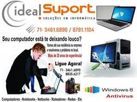 Formatação de Notebook á Domicilio Salvador - Ba - Internet / Multimídia - Salvador