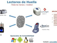 Lectores de Huellas Suprema, Lumidigm, SecuGen y DigitalPersona - Internet / Multimedia - Santiago