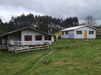 2 Casas en venta, Chiloe, a 13 km de Quellon - chiloe terreno