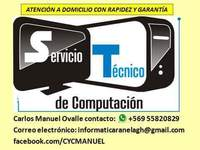 CYC Servicio de reparación de PC y notebooks - Internet / Multimedia - Iquique