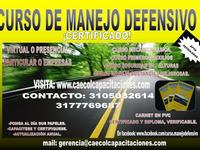 CURSO DE MANEJO DEFENSIVO CERTIFICADO VIRTUAL VERIFICABLE - Cursos y Capacitación - Cartagena