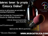 servidor de radio en linea (streaming) 96kbps auto dj 1gb - Internet / Multimedia - Soledad