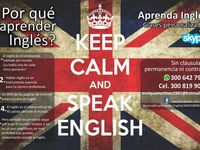 Keep Calm and Speak English - Idiomas - Barranquilla