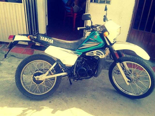 Yamaha Dt 125 2002 Super Trail Special