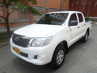 Toyota Hilux DC Disel Full Equipo 4x4 Modelo 2015  - Camionetas / 4x4 - Medellín