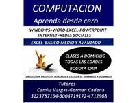 Clases de Sistemas ( Excel, Word, Power Point) Domicilios - Cursos de Informática / Multimedia - Bogotá