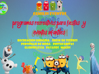 Super Match y Recreacion Para Fiestas Infantiles Con Camilin Eventos - Eventos - Bogotá