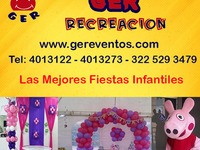 Fiestas y Eventos Infantiles Con Decoracion y Recreacion  - Eventos - Todo Colombia