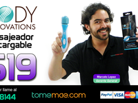 Body Innovations Aqua Thrill Rechargeable Massager - $19 - Compras en General - San José