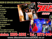 Disco Movil Zeus 2000 - Servicio de Fiestas - Desamparados