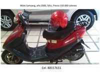 Bicimoto-Scooter Samyang 2000 super pure 50 - Motos / Scooters - Escazú