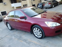 Honda Accord 2007 color rojo vino - Autos - Santo Domingo Norte