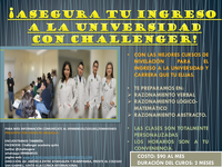 Ingresa a La Universidad Con Challanger Academy - Universidades - Quito