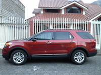 Ford Explorer XLT 4x4 2014 flamante rojo colonial - Autos - Baños