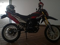 vendo moto thunder 250 año 2015 - Motos / Scooters - Quito