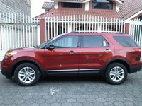 FORD EXPLORER XLT 4X4 FULL ROJO COLONIAL 2014 DE OPORTUNIDAD - Autos - Ambato