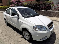 VENDO CHEVROLET AVEO EMOTION ADVANCE AÑO 2013 VERSIÓN FULL - Autos - Quito