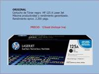 Original! Cartucho de Tóner negro HP 125A Laser Jet - Internet / Multimedia - Quito