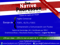 Clases de Ingles - Profesor nativo de Cambridge - Idiomas - Barcelona