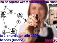 Marketing Digital diseño de paginas Web y publicidad - Internet / Multimedia - Alcobendas