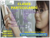 Clases particulares - clases matematicas