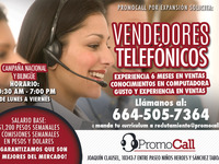AGENTES TELEMARKETING NACIONAL Y BILINGUE - Marketing y Publicidad - Tijuana