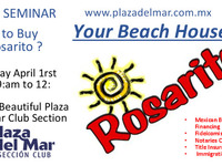 Seminar in Plaza del Mar Totally Free! Fideicomisos and Credit Bank - Otros Servicios - Playas de Rosarito