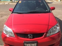 Honda Civic Coupé Rojo 04 - Carros - León