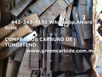 COMPRO SCRAP DE CARBURO DE TUNGSTENO - Compras en General - Tampico
