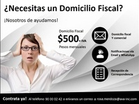 DOMICILIO VIRTUAL EN CD MX/DF - Anuncios Diversos - B. Juárez