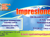 Copias e Impresiones - Internet / Multimedia - Managua